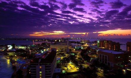 La vida nocturna en Cancún